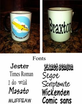40 TAS Coffee Mug