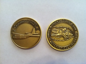 40 TAS Squadron Coin