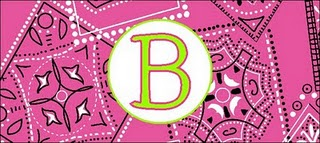 Pink Bandana Coozi Beverage Holder -  Personalized/Monogrammed