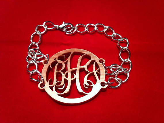 Acrylic Vines Font Bracelet