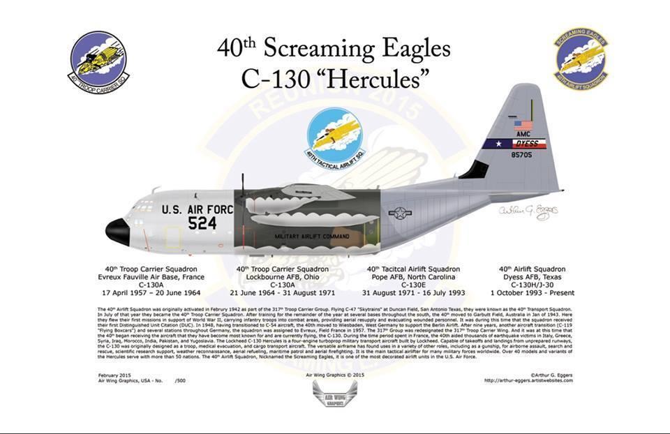 C-130 Heritage Print