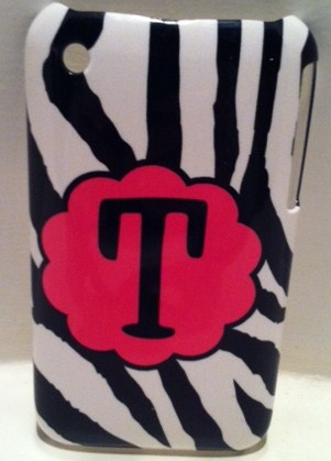 Black & White Zebra  Iphone case